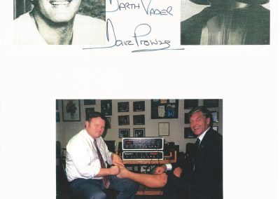 Dave Prowse (Darth Vader)